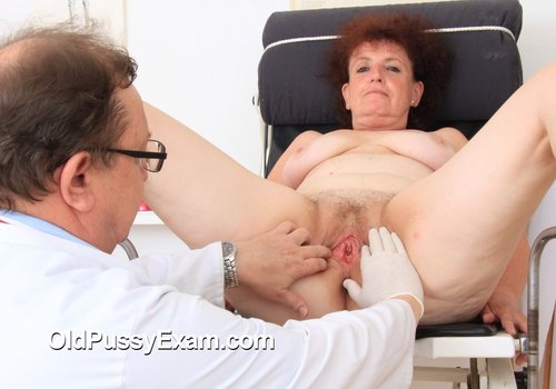 OldPussyExam.com marsa 003 500x350 Treating Mature Oily Skin   Marsa gets a whole body and gyno examination at the clinic Mature Temptation   Horny MILFS   Sexy COUGARS   Older WOMEN   GRANNIES   IF theyre hot, theyre all here!