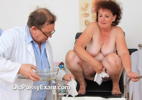OldPussyExam.com marsa 010 500x350 Free Fucking Mature Pussy   Marsa gets a whole body and gyno inspecting at the clinic Russian Teachers